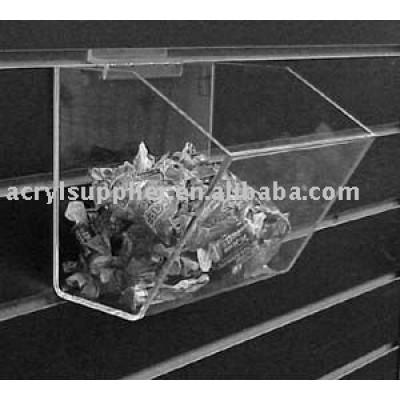 Acrylic Slatwall Rack