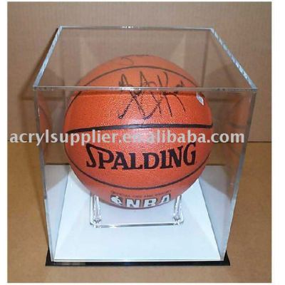 acrylic basketball display case