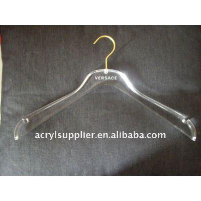 2012 acrylic clothes hanger