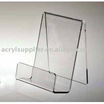 Clear acrylic display for book easel 6