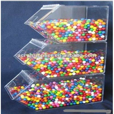 acrylic candy dispenser for wrapped sweets