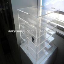 acrylic clear drawer storage box
