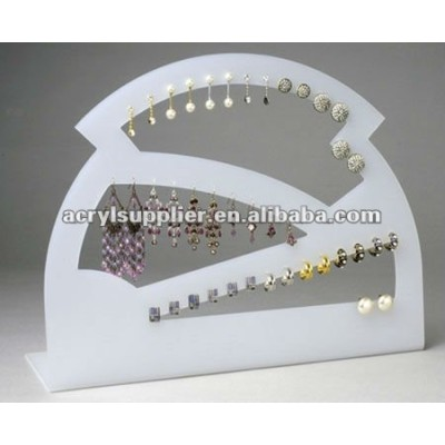 stylish acrylic cosmetic and jewerly display for Earring