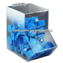 acrylic dry food dispenser