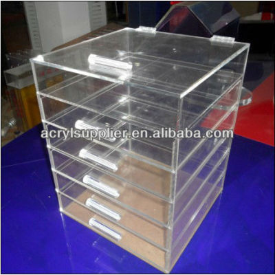 acrylic accessories organizer