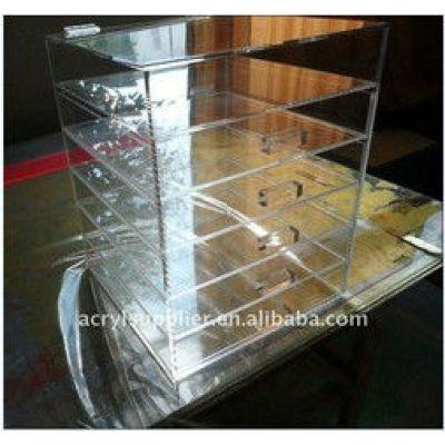 acrylic adjustable drawer organizer