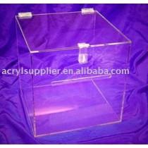 acrylic cube box