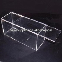 clear acrylic display box