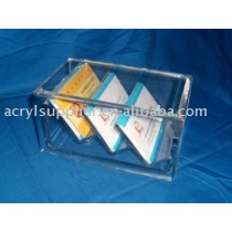 Transparent acrylic pallet display boxes