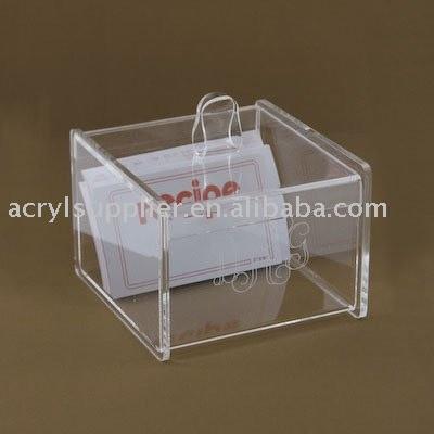 acrylic box, display case