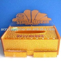acrylic paper towel box