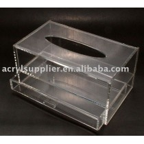 acrylic tissue box tissue case