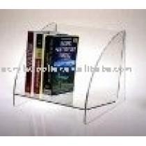 Acrylic book rack
