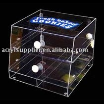 transparent acrylic display box and cover