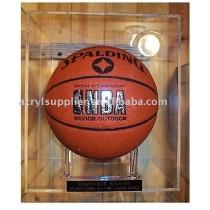 2012 Acrylic basketball display case