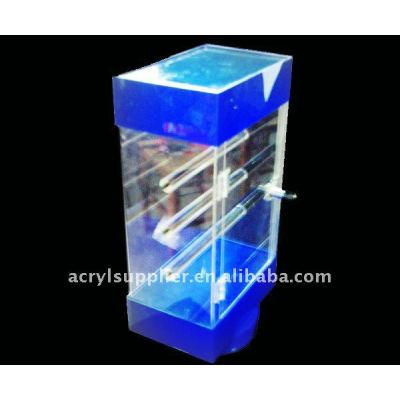hot sale new design crystal transparent Acrylic Light box with LED