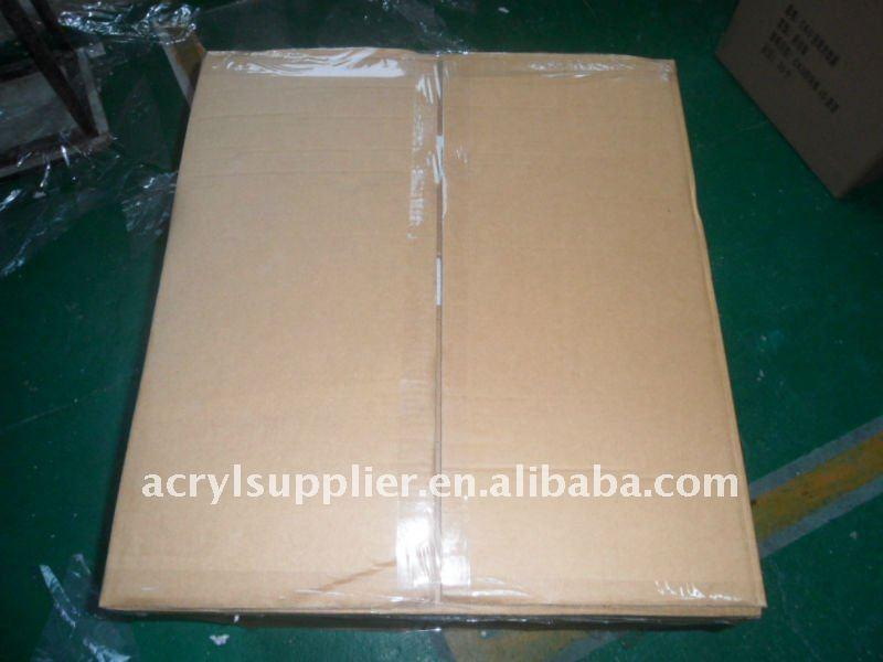 hot new style square clear acrylic napkin box