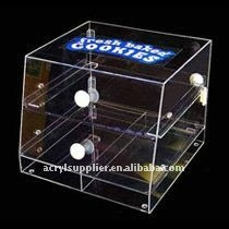 2 Teirs clear acrylic drawers home furnitures