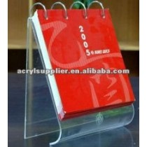 arcylic menu/menology/solar calender holder/stand