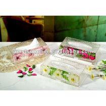 2013 new acrylic fashion napkin box