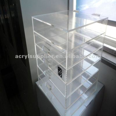 acrylic drawer comestic orgnizer