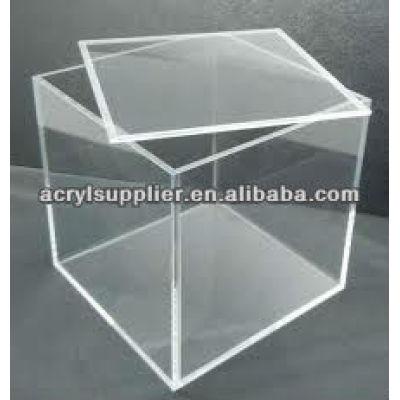 acrylic storage box