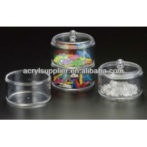 Acrylic Stack-able Round Dish