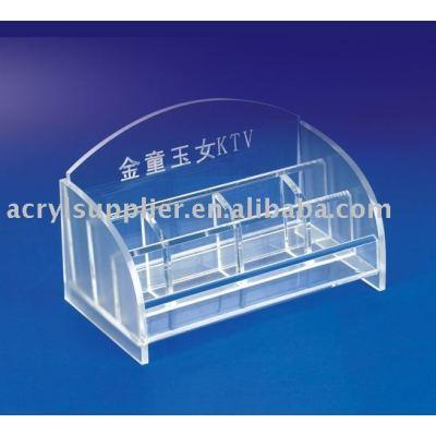 Modern designed acrylic file holder for office
