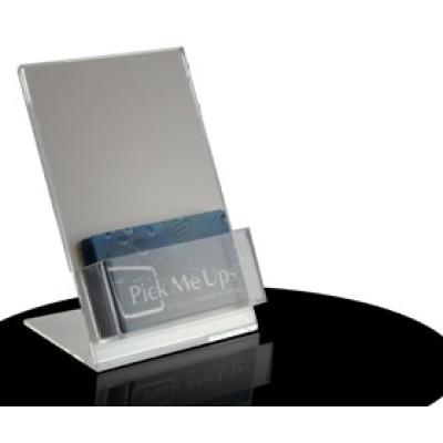 acrylic business card holder