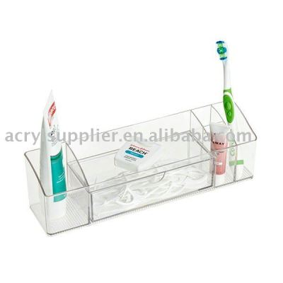 Acrylic Cabinet Organizer with Drawer