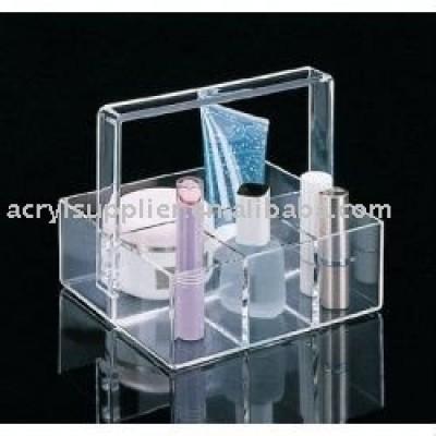 acrylic makeup Organizer basket