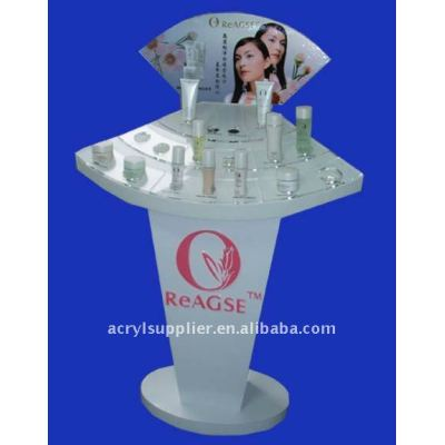 Fashionable transparent Acrylic cosmetic display holder