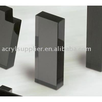 acrylic column display