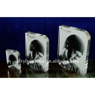 high quality clear acrylic photo frame for promotion