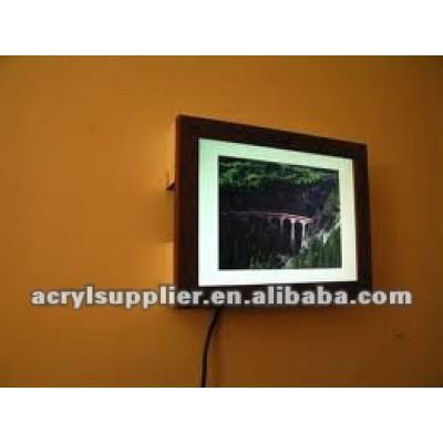acrylic digital photo frame