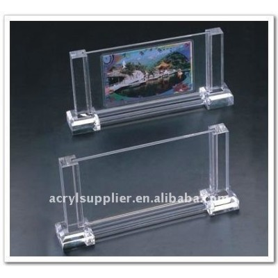 Hot sale latest decorative clear acrylic photo block with magnets