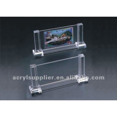 square acrylic picture frame for family