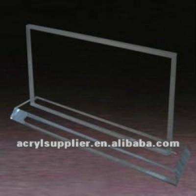 Transparent Acrylic menu holder