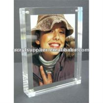acrylic frameless picture frame