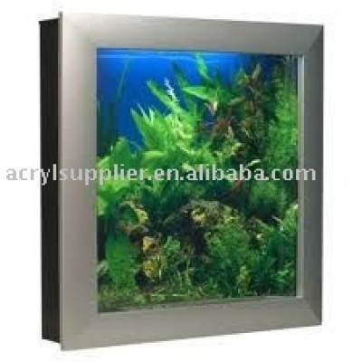computerized picture frame acylic aquarium