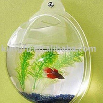 acrylic hanging fish tank