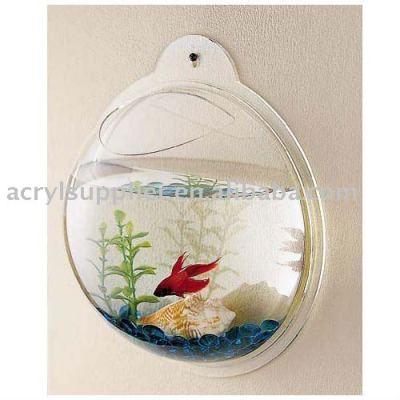 clear acrylic mini fish tank-12