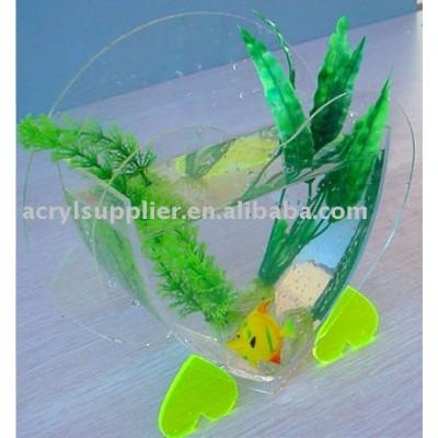 acrylic mini fish tank-2