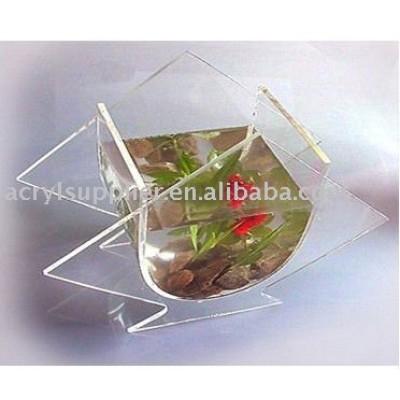 clear acrylic shark-shape mini fish tank-4