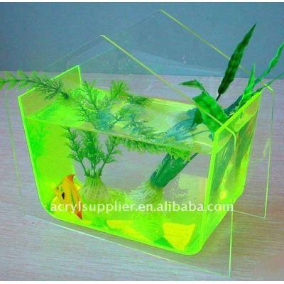 acrylic fish tank in elegant style