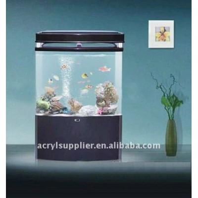 Modern Design hanging transparent acrylic fish bowl for hotel