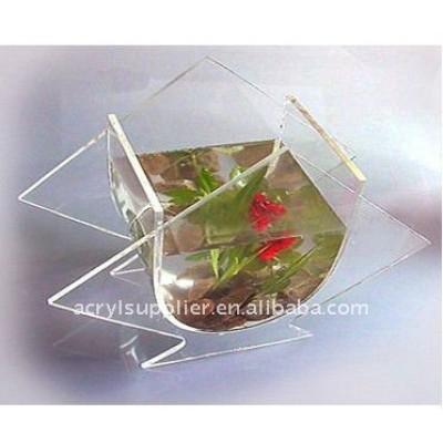 Hot sale latest decorative acrylic fish jar at best price