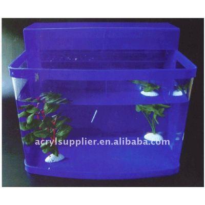 acrylic fish tank in home and garden of arowana fish