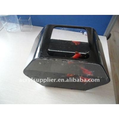 black round acrylic fish tank aquarium for home