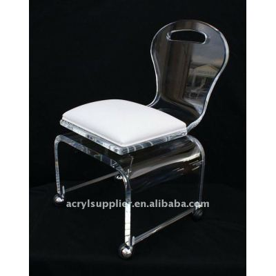 Modern Clear acrylic dining chairs